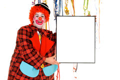 Celebration clown Royalty Free Stock Photo