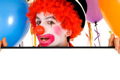 Celebration clown Royalty Free Stock Photography