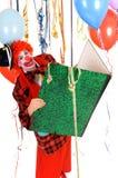 Celebration clown Royalty Free Stock Photo