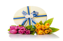 Celebration concept with flowers Royalty Free Stock Image