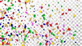 Celebration Confetti Background. Many Falling Confetti for Your Design. Holiday Decoration Elements. Festive Vector Illustration. Celebration Confetti Background Royalty Free Stock Photo
