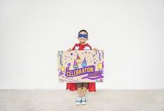 Celebration Congratulations Kid Enjoyment Concept Royalty Free Stock Photography