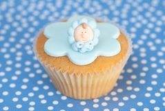 Celebration Cupcake Stock Photo