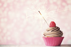 Celebration cupcake Royalty Free Stock Image