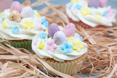 Celebration cupcakes Royalty Free Stock Photo