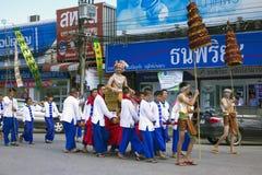 Celebration Dedicated to the Buddha Stock Photography