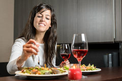 Celebration dinner Royalty Free Stock Photo