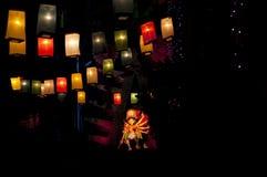Celebration of durga puja. Durga puja celebration in kolkata Stock Photos
