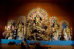 Celebration  of Durga Puja, Kolkata, West Bengal Royalty Free Stock Photos