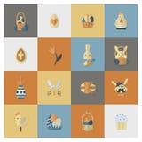 Celebration Easter Icons Stock Photography