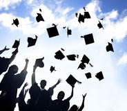 Celebration Education Graduation Student Success Learning Concept.  stock photo