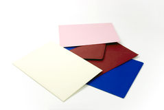celebration - envelopes. close up shot Stock Photography