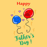 Celebration of father day style collection. Vector illustration Stock Photo