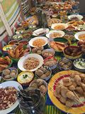Celebration Feast in South Africa Stock Images