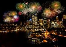 Celebration firework Stock Photography