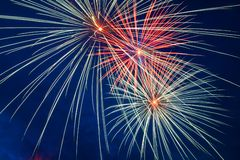 Celebration fireworks Royalty Free Stock Images