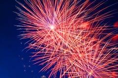 Celebration fireworks stock photos