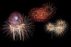 Celebration fireworks Royalty Free Stock Photography