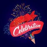 Celebration fireworks Stock Photography