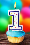 Celebration of the first year either for a birthday. Or other event royalty free stock image