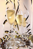 Celebration fizz Stock Images