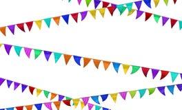 Celebration Flags Stock Image