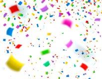 celebration Fundo colorido brilhante dos confetes ilustração do vetor