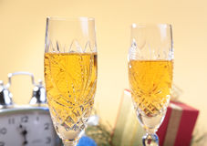 Celebration. the glasses of champagne and wine. Celebration. the glasses of champagne and wine Royalty Free Stock Photos
