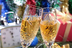 Celebration. the glasses of champagne and wine. Celebration. the glasses of champagne and wine Royalty Free Stock Photography
