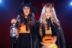 Celebration of Halloween Stock Photo