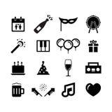 Celebration icon Royalty Free Stock Photography
