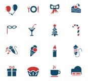 Celebration icon set Stock Image
