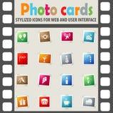 Celebration icon set Stock Photography
