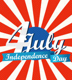 The celebration of The Independence Day Royalty Free Stock Images