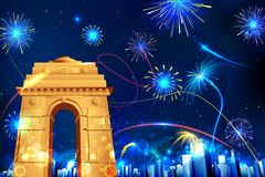 Celebration of India Stock Image