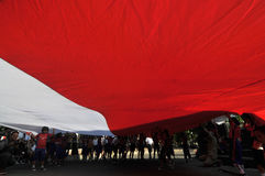 The Celebration of Indonesia Independece Day Royalty Free Stock Photo