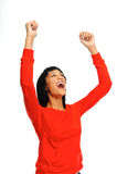 Celebration joy Royalty Free Stock Image