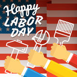 The celebration of The Labor Day Stock Images