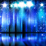 Celebration light stage background Royalty Free Stock Photography