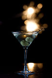 Celebration martini Royalty Free Stock Image