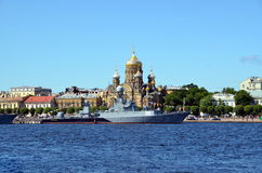 The celebration of the Navy, St. Petersburg Stock Photography
