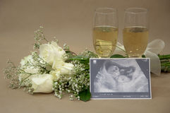 Celebration of new life Royalty Free Stock Photo