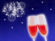 celebration new year Στοκ εικόνα με δικαίωμα ελεύθερης χρήσης