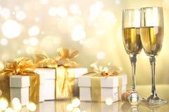 Celebration the new year Royalty Free Stock Photo