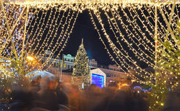 Celebration of  New Year Royalty Free Stock Photography