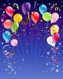 Celebration  night background Royalty Free Stock Image