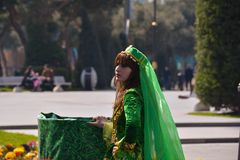 Celebration Novruz in Baku, Azerbaijan Royalty Free Stock Photography