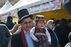 Celebration Novruz in Baku, Azerbaijan Royalty Free Stock Image