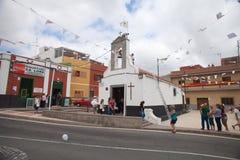 Celebration of Nuestra senora de las Nieves Royalty Free Stock Images