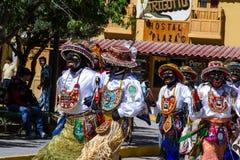 Celebration in Ollantaytambo Peru Royalty Free Stock Image